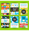 Back to School Label Greeting Invitation Set