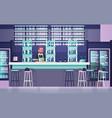 bartender on bar counter barkeeper man over