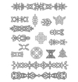 Celtic ornaments and embellishments vector | Price: 1 Credit (USD $1)