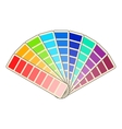 Color swatch icon cartoon style vector image vector image