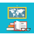 Concept of education and science vector image vector image