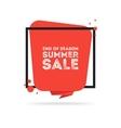 end season summer big sale banner vector image vector image