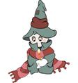 Ghost cartoon vector image vector image