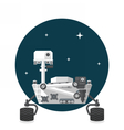 Mars Rover vector image