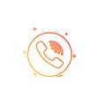 media network social viber icon design vector image