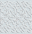 Seamless Pattern Background Curl Decoration vector image vector image