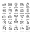 Shopping and Retail vector image