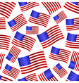 usa national flag celebration seamless pattern vector image vector image