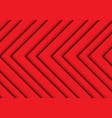 abstract red arrows pattern background texture vector image