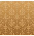 Damask seamless wallpaper vector | Price: 1 Credit (USD $1)