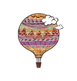 Decorated Balloon vector image