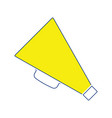 director megaphone icon vector image vector image