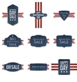 Fourth of July realistic Banners Set vector image