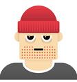 Grumpy guy vector image