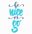 lettering typography calligraphy overlay vector image vector image