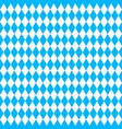 oktoberfest background with blue rhombus vector image vector image