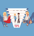 pregnancy tips for women informational website vector image