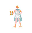 apollo olympian greek god ancient greece vector image