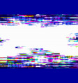 glitch pixels abstract distorted background vector image vector image