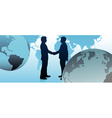 global business people vector image vector image
