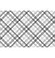 Gray diagonal check seamless pattern vector image vector image