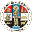 Los Angeles County Seal vector image vector image