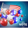Presidential Election Vote 2016 in USA Background