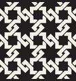 seamless interlacing lines pattern modern stylish vector image