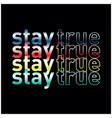 stylish trendy slogan tee t shirt graphics design vector image vector image
