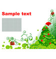 xmas backdrop vector image vector image