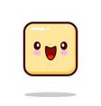 emoticon icon emoji isolated on white background vector image