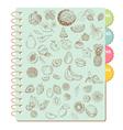 Scrapbook Design Elements -Set of Various Fruits vector image