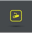cctv camera icon exclusive symbols vector image