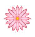 cute flower garden icon vector image
