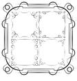 delicate frames Set vector image vector image