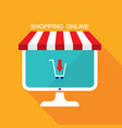 e commerce business concept online storesale vector image