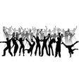 huge party vector image