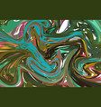 liquid texture grunge wavy background vector image