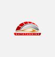 luxury auto tuning and detailing logo automotive