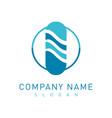 pharmacy logotype vector image vector image