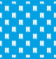 book pattern seamless blue vector image vector image