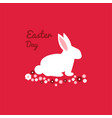 happy easter greeting card image vector image vector image