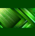modern green layout background vector image vector image