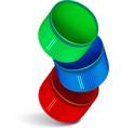 Plastic bottle cap vector image vector image