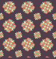 seamless hand drawn pattern with ethnic vector image vector image