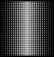 seamless pattern circles halftone transition vector image vector image