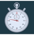Stopwatch - time measuring vector image vector image