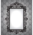 antique frame vintage background vector image