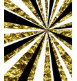 abstract background with golden rays vector image