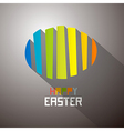 Abstract Colorful Easter Egg Background vector image vector image